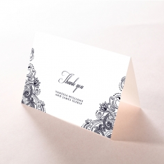 Royal Embrace thank you card design