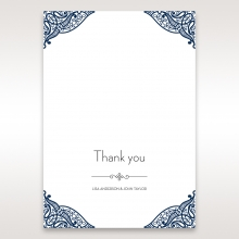 Royal Frame thank you wedding stationery card item