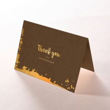 Rusted Charm thank you stationery card item