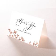 Secret Garden thank you card