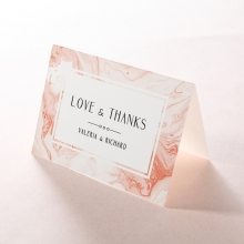 Serenity Marble wedding thank you stationery card item