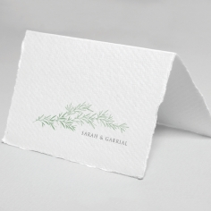 Simple Elegance wedding stationery thank you card item