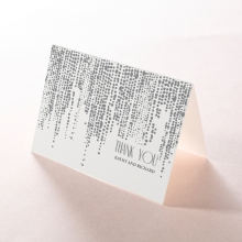 Star Shower wedding thank you stationery card item