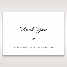 Stylish Laser cut Peacock Feather wedding thank you stationery card