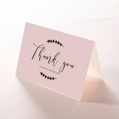Sweet Romance thank you stationery card design
