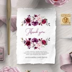 Their Fairy Tale thank you card