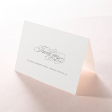 Timeless Romance thank you wedding stationery card item