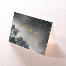 Under the Stars thank you stationery card item