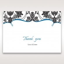 Vintage Glamour thank you stationery card item