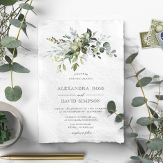 Beautiful Devotion Wedding Invitation