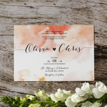 Blushing Rouge Invitation Design