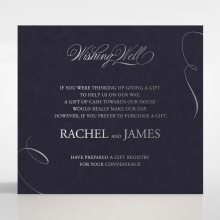 A Polished Affair wishing well enclosure invite card