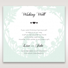 Arch of Love wishing well card