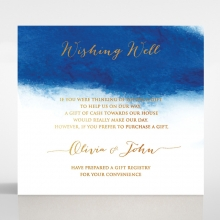 At Twilight  with Foil wedding stationery wishing well invitation card design