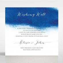 At Twilight wedding wishing well enclosure card design