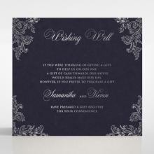 Baroque Romance wedding gift registry enclosure card