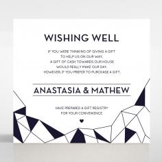 Digital Love wishing well stationery invite card
