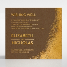 Dusted Glamour wishing well enclosure card design
