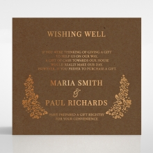 Enchanted Crest wishing well stationery