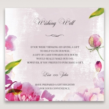 Enchanting Forest 3D Pocket wedding wishing well invite card