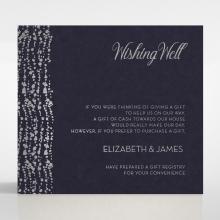 Enchanting Halo wedding wishing well enclosure card