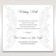 Everlasting Love wedding stationery gift registry enclosure invite card