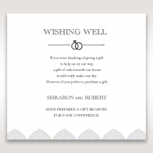 Everly wishing well stationery invite