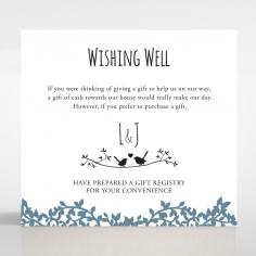 Forest Love wedding wishing well invite