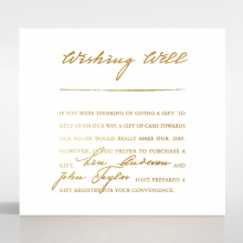 Love Letter wedding stationery wishing well invite card