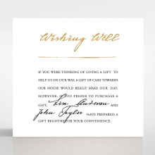 Love Letter wedding stationery wishing well invite card design