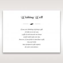 Lovely Lillies gift registry invitation card