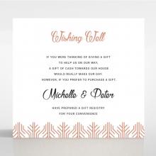 Luxe Rhapsody wedding stationery gift registry invite