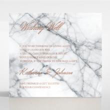 Marble Minimalist wedding stationery gift registry invitation
