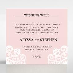 Oriental Charm wedding stationery wishing well card design