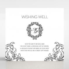 Paper Aristocrat wedding stationery gift registry enclosure invite card