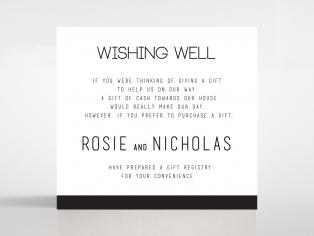 Paper Minimalist Love wedding stationery gift registry invite card