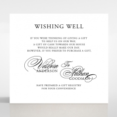 Paper Timeless Romance wedding stationery gift registry invite