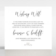 Paper Timeless Simplicity wedding stationery gift registry invitation