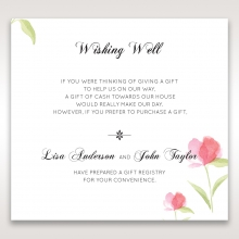 Petal Perfection wishing well stationery