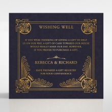 Regal Frame wedding wishing well enclosure card
