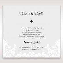 Regal Romance wedding stationery gift registry invite