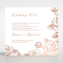 Rose Garden wishing well enclosure card design