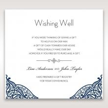 Royal Frame wedding stationery wishing well invite card