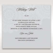 Rustic Lace Pocket gift registry stationery invite card design