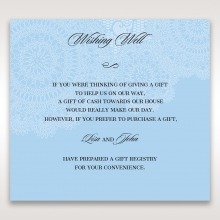Rustic Lace Pocket gift registry stationery invite