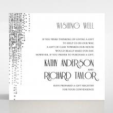 Star Shower wedding stationery gift registry invite card design