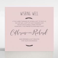 Sweet Romance wedding stationery wishing well invite card design