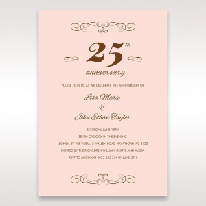 Exceptional Wedding Anniversary Invitations