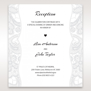 your stationery set with exquisite wedding reception invitations - Quick Wedding Invitations