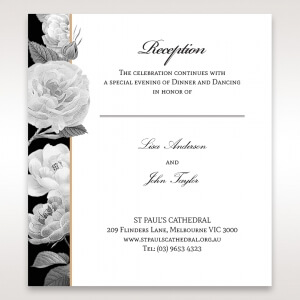 Wedding Reception Invitations To Match Your Theme